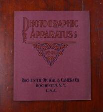 ROCHESTER OPTICAL & CAMERA 1901 PRODUCT CATALOG/cks/215815