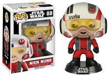 Star Wars: Force Awakens  - Nien Nunb (With Helmet) POP Vinyl Bobble-Head (88)