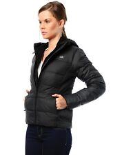 Nike Para Dama ALIANZA 550 Relleno plumón CAPUCHA TALLA XS NEGRO 541418 010