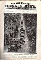1915 London News July 24 - Red Cross Ambulances; Venice armors itself; Russia