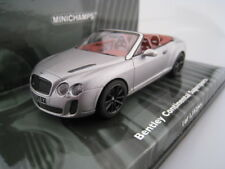 Bentley Continental Supersports Cabrio limitato a 1.152 pezzi Minichamps 1:43