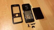 NEUE & KOMPLETTE Beschalung für Nokia 6300 / 6300i Farbe schwarz ; LESEN, bitte!