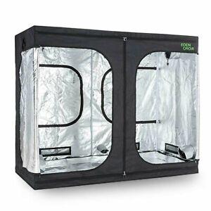 Grow Box Room Kit Coltivazione Serra Tenda Indoor Interni Piante 240x120x200 cm