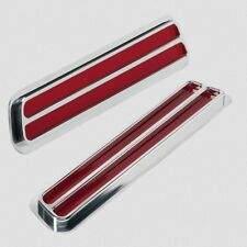 Billet Specialties 61737 Taillights Flush Mount Slotted with Polished Bezel