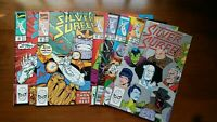 Silver Surfer #30 #31 #32 #33 #34 #36 ( Marvel comics ) high grade white pages