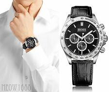 New with tag Hugo Boss Men 44mm Case IKON Chronograph Watch 1513178 $315