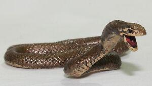 BROWN SNAKE Replica Small Reptile Figure Model Animals of Australia