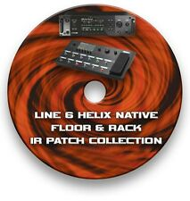More details for line 6 helix ir's guitar effects pedals - sounds tone library 80,000+ cd
