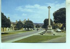 Ford Anglia High Street Broadway Worcestershire unused 1960s postcard