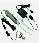 Rapala Deluxe Electric Fillet Knife Set  PGEF1 110 AC/DC & 12V Plug & Clips 18ft