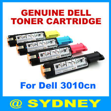 Genuine DELL Toner Cartridge Set for Dell 3010cn JH565 WH006 TH204 XH005