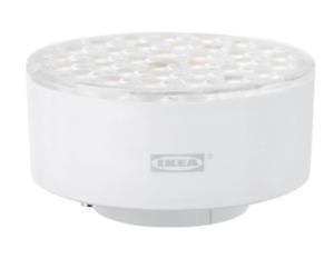 IKEA LEDARE LED bulb GX53 1000 lumen dimmable warm dimming adjustable beam angle