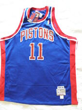 Mitchell Ness M&N Detroit Pistons Isiah Zeke Thomas jersey NWT 56 3XL NEW Blue