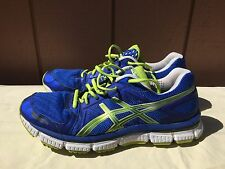 EUC Men's Asics Gel-Neo 33 T222N 9790 Running Shoes Blue US Sz 10 EU 44