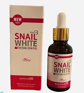 Snail  White Plus 3 Whitening Face Serum  40ml.