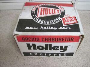 NEW HOLLEY DOMINATOR RACING CARBURETOR 4500 1050 CFM 2 CIR/1X4-2X4 NO. 0-8082-1