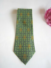 Gucci men's silk designer tie. 100% authentic Gucci. Mint.