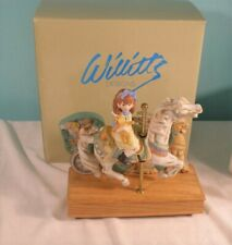 Willitts Designs Magical Moments Carousel Horse Music Box, MIB