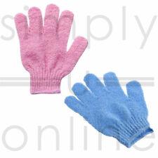 2 X Exfoliating Glove Body Scrub Gloves Shower Bath Mitt Skin Massage Spa