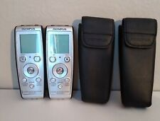 Olympus Vn-4100Pc Handheld Digital Voice Recorder Tested and Working!