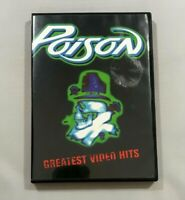 Poison Greatest Video Hits DVD 2001 Complete with Manual