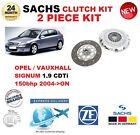 para Opel Signum 1.9 CDTI 16v 150bhp 2004-on SACHS 2 PIEZAS KIT DE EMBRAGUE