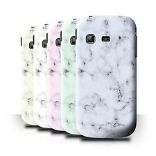 STUFF4 Back Case/Cover for Samsung Galaxy Chat/B5330/Marble Rock Granite Effect