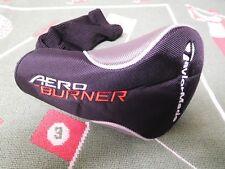 New TaylorMade AeroBurner 2016 Driver Head Cover  (Black)
