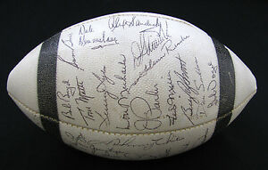 1966 Baltimore Colts team-signed/autographed football 38 signatures with Unitas!