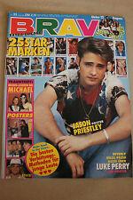Bravo 33/1992 Jason Priestley, Luke Perry, Michael Jackson, 25 STAMPS