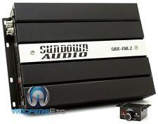 SUNDOWN AUDIO SAX-150.2 AMP 2-CHANNEL 300W RMS COMPONENTS SPEAKERS SUB AMPLIFIER