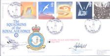 1995 EUROPA RAF FDC FIRMATO Co 8 Sentinella SQD. Hall