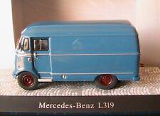 MERCEDES BENZ L319D TOLE BLEU AZUR PREMIUM CLASSIXXS 11008 1/43 CAMION KASTEN