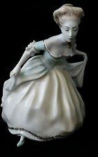 VINTAGE HAND PAINTED HANDGEMALT ROSENTHAL DANCING LADY FIGURINE 206/1 SIGNED