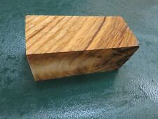 SPALTED  OAK  DELUXE KNIFE BLOCK/SCALES/ CALLS/ PEN BLANKS--O--4