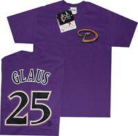 Troy Glaus Arizona Diamondbacks T Shirt MENS Majestic New CLEARANCE
