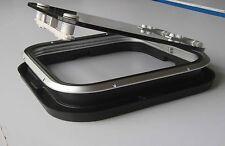"Galamarine Aluminum Friction Hinge Boat Deck Hatch Vent 19.7"" x 19.7"" 500x500mm"