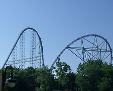 Millennium Force,Roller Coaster, Cedar Point 8x10 High Quality Photo Picture