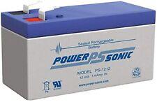 Power-Sonic PS-1212 12 Volt 1.4 Amp Hour Rechargeable SLA Battery