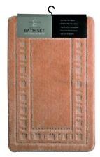 Tapis de bain marrons sans marque