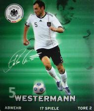 REWE DFB WM2010 SAMMELKARTE - Nr 5 HEIKO WESTERMANN BILD STICKER FUßBALL WM 2010