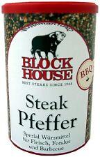 Block House Steak Pfeffer Special Würzmittel für Fleisch,Barbecue,Fondue,BBQ