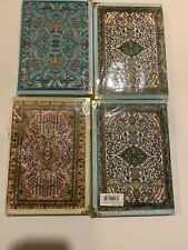 Handmade Paper Journal Notebook From Turkey Hand Woven Fabric Cover 7.5 x 5.5""