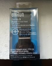 Braun BT32 Trimmer Head for Beards, with 5 Combs for Precision Trimming CL03