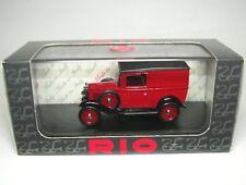 Fiat 508 Balilla (rojo/negro) 1935