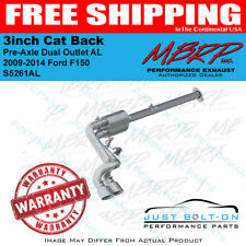 MBRP 2009-2014 Ford F150 3inch Cat Back Pre-Axle Dual Outlet AL #S5261AL