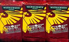 WARHAMMER 40000 3 BOOSTERS BATTLE FOR PANDORA PRIME  VF