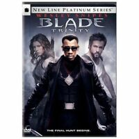 Blade: Trinity (DVD, 2005, 2-Disc Set) Wesley Snipes WORLD SHIP AVAIL