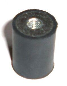 2 Stk 20 * 25 mm, M 6, Typ C  Silentblock, Schwingmetall, Vibrationsdämpfer,