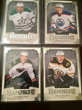 2013-14 UD ARTIFACTS RC /699 ROOKIE REDEMPTION LOT (4) CARDS